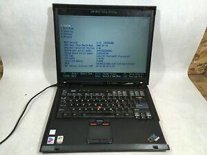 IBM ThinkPad R52 Pentium M 1.86 GHz 1.5 GB Ram Boots- FT