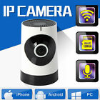 TELECAMERA WIFI IP CAMERA HD 720P WIRELESS IR CCTV FISHEYE CAM VISIONE NOTTURNA