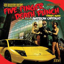 Five Finger Death Punch - American Capitalist [New CD] Explicit