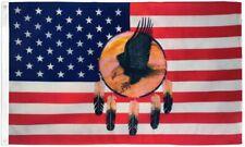 "New listing ""Usa Dream Catcher Eagle"" 3x5 ft flag polyester"