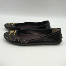 Louis Vuitton Red Patent Flats Size 6