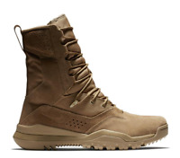 "Nike SFB Field 2 Coyote Brown 8"" Leather Tactical Combat Boots SKU: #AQ1202-900"