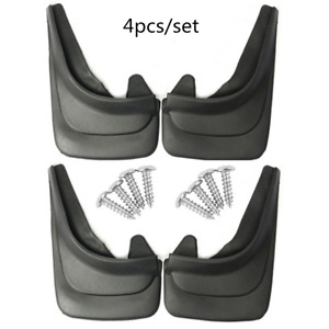 4PCS Car Truck Vans Mud Flaps Splash Guard Protective Fender Mudguard Universal