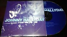 JOHNNY HALLYDAY CD PROMO AVEC TAMPON RTL TES TENDRES ANNEES