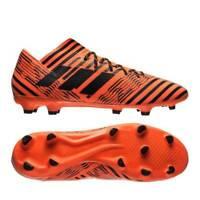 adidas Nemeziz 17.3 FG Mens Football Boots Black Orange Size 9,10, EU 44,45 NEW