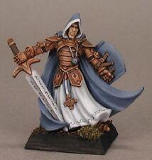 Sir Conlan Crusaders Sgt Reaper Miniatures Warlord RPG D&D Fighter Paladin Melee