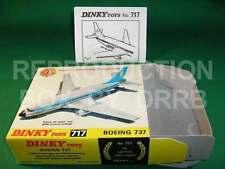 Dinky #717 Boeing 737 Lufthansa-Reproduction Box par drrb