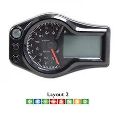Acewell ACE-6556 Motorrad & ATV Multifunktions Instrument Tacho + Drehzahlmesser