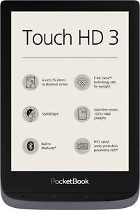 Pocketbook Touch HD 3 grau eBook Reader 6 Zoll E-Ink Carta Touchscreen 16GB