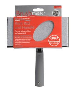 """Brushmaster Premier Decorating Paint Pads and Multi-Position Handles (7"""" or 9"""")"""