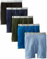 Hanes Men's 5-Pack Comfort Flex Exposed Waistband Boxer Brief