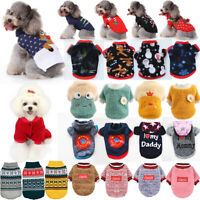 Haustier Hund Winter Warm Kleidung Pullover Welpen Chihuahua Weste Jacke Mantel