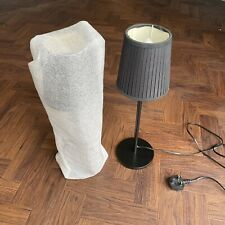 2 X IKEA TABLE LAMPS / BEDSIDE TABLE BLACK PAIR