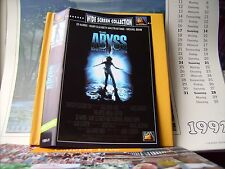 THE ABYSS  ++  SPEZIAL EDITION  ++  VHS - VIDEO  ++  SEHR GUT  ++