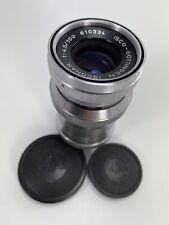 Vintage  ISCO-GOTTINGEN ISONAR 100 mm f/4.5 Exacta EXA Mount Lens Beautiful
