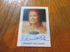 2017 Women of Star Trek 50th Anniversary Bridget Anne White as Larell Autograph
