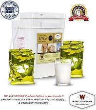 Wise Food ~ 120 Serving Long Term Dry Powdered Whey MILK, Emergency Survival