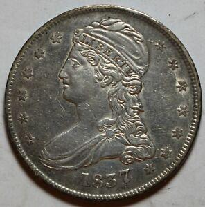 1837 Bust Half Dollar ZB91