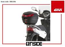 GIVI SR6106 ATTACCO BAULETTO POSTERIORE KYMCO AGILITY 50 125 150 200 R16+ 2015