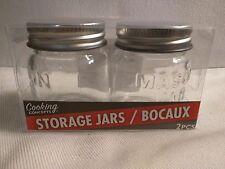 Mason Jar Small Mini Glass Spice Jars Wedding Bridal Baby Shower Favor Rustic 2