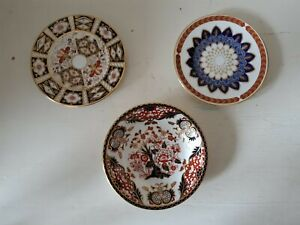 3 Royal Crown Derby items - Various - 1st/2nd