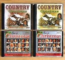 Stars At Christmas & Country Christmas ? 4 CD Compilations ? 82 Songs!