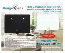 SALE: Range Xperts Flat Indoor HDTV Antenna - 65 Mile Higher Quality TV Antenna