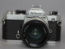 Nikon FM 35mm manual focus film camera with 50mm f2 Nikkor Ai lens - Nice Ex++!