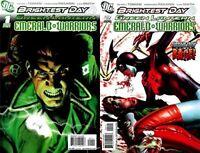 Green Lantern: Emerald Warriors #1-2 (2010-2011) DC Comics - 2 Comics