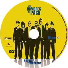 "ESPAÑA,SERIES,""LOS HOMBRES DE PACO"" 1RA, 2DA,3RA Y 4TA TEMPORADA, 20 DVD"