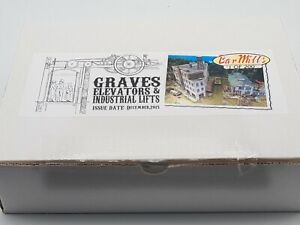 HO SCALE BAR MILLS KIT - GRAVES ELEVATORS & LIFTS - LIMITED RUN DIORAMA