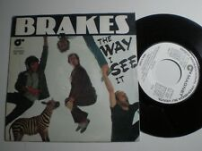 BRAKES The Way I see It SPAIN WL PROMO 45 MAGNET 1980 Power Pop