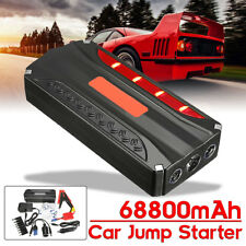 68800mAh Auto Jump Starter Booster Batteria Avviatore Emergenza Torcia 600A Peak