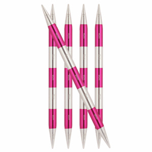 KnitPro SmartStix DPNs / Double Point Needles Knitting Aluminium Smart Stix 14cm