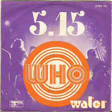 """THE WHO """"5-15 / WATER"""" 70'S SP TRACK 2094 115"""