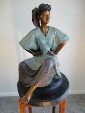 "Victor Gutierrez ""MARCELLA"" Bronze Sculpture"