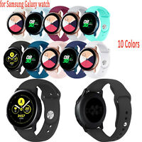 Silicone Strap Replacement Sport Band for Samsung Galaxy Watch Active Wristwatch