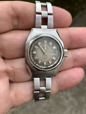 Zenith Automatic Defy Lady Working For Parts Repair Watch Vintage