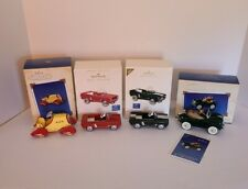 Hallmark Kiddie Car Classics Collection Die Cast w/Boxes Mustang Lot of 4