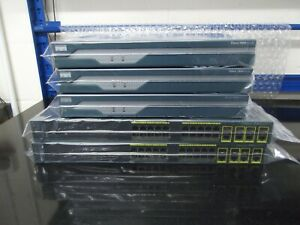 Cisco Ccna Ccnp Débutant Kit 3 X1841 Isr WIC-1T 2 X WS-C2960G + Câbles Ios 15