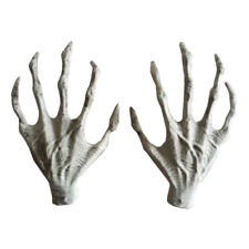 Plastic Skeleton Hands Halloween Witch Hands Haunted House Horror props Fugue