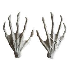 Halloween Horror Props Lifesize Skeleton Hand Haunted House Party Scary Decorati