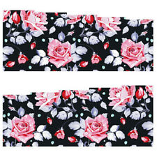 Fullcover Sticker Nail Art Wrap Nagelsticker Blume Rose Schwarz C150