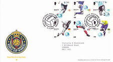 6 JUNE 2006 WORLD CUP WINNERS FOOTBALL ROYAL MAIL FIRST DAY COVER BALL PARK SHS