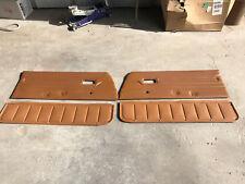 78 79 80 81 Subaru Brat 1600 Door Panel Set