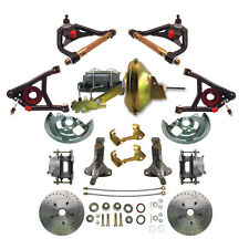 Chevelle Performance Disc Brake Conversion Kit & Tubular Steele Control Arms Set