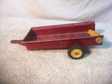 Vintage Metal Toy Massey Ferguson Waggon Manure Spreader