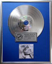"""Doris Day - The best of CD/Cover gerahmt +12"""" Deko goldene Vinyl Schallplatte"""