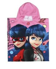 Miraculous Ladybug & Marinette Hooded Poncho Towel 50x115cm