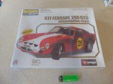 Bburago 1:16 - 7011 Metal Kit  Ferrari 250 GTO Nürburgring Rot in OVP NOS NEW